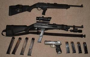 Полицейский карабин Ruger PC и пистолет P-серии