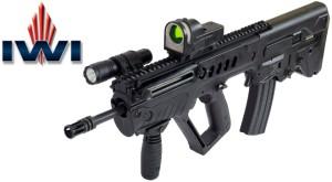 Штурмовая буллпап винтовка Tavor под патрон 7.62 мм