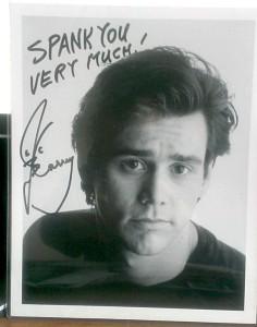 Бывший фанат Джима Керри решил выставить фотографию с автографом Керри на аукцион