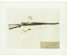 Самозарядная винтовка фирмы Rheinmetall образца 1928 года. Неполная разборка.