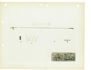 Самозарядная винтовка фирмы Rheinmetall образца 1928 года. Сломанные или замененные в ходе испытаний детали.