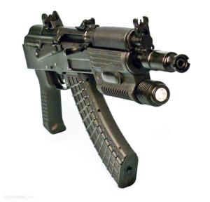Пистолет SAM7K-02 с интегрированным фонариком