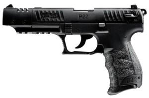 "Walther P22 Q Model, 5"" Target, Black"