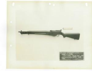 Самозарядная винтовка Уайта образца 1929 года. Общий вид слева.