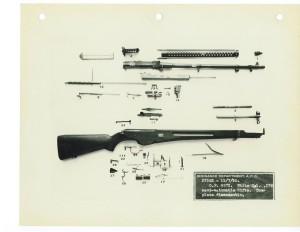 Самозарядная винтовка Уайта образца 1929 года. Полная разборка.