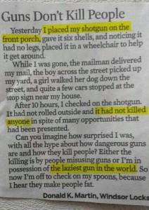 Опасно ли оружие в руках гражданского населения?