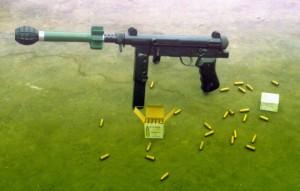 9 мм пистолет-пулемет MGP-87 (Перу)