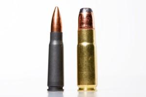 Сравнение с нашим обожаемым рельсопробивным М43. Он слева. Ему страшно