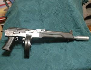Конверсия АК под патрон 9х19 мм