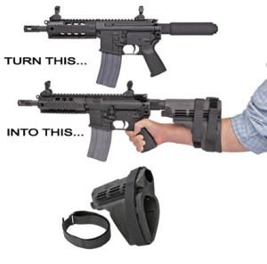 Стабилизирующая опора SB15 Pistol Stabilizing Brace от Sig Sauer