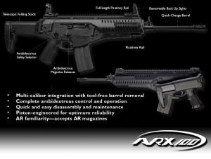 Полуавтоматическая винтовка Beretta ARX100