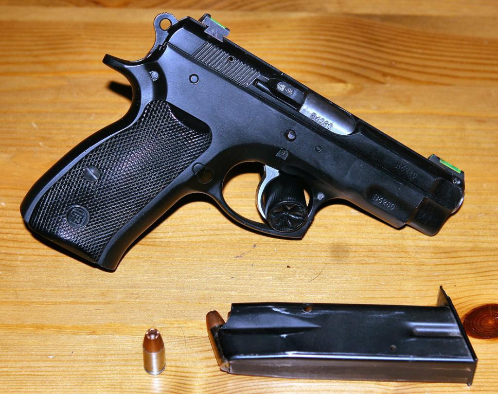 Пистолет CZ-75 в современном исполнении