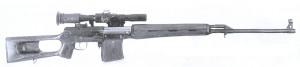 Снайперская винтовка Драгунова обр.58 года представленная на государственные испытания