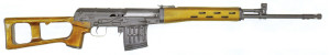 Снайперская винтовка СВД конструкции Драгунова опытный образец 1981 года