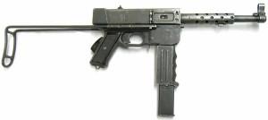9 мм пистолет-пулемет MAT-49 (Франция)
