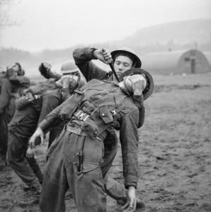 Тренировка британских коммандос
