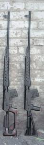 Снайперские винтовки СВК и СВК-С под патрон калибром 6 мм