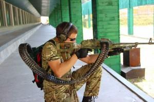 Сделано на Украине. Ранцевая система питания пулемета.