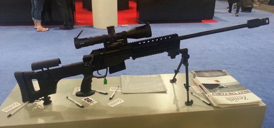 Магазинная винтовка Bora-12 под патрон 7.62x51 NATO от компании Zenith Firearms/MKE