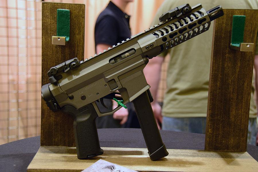 9мм пистолет-карабин UDP-9