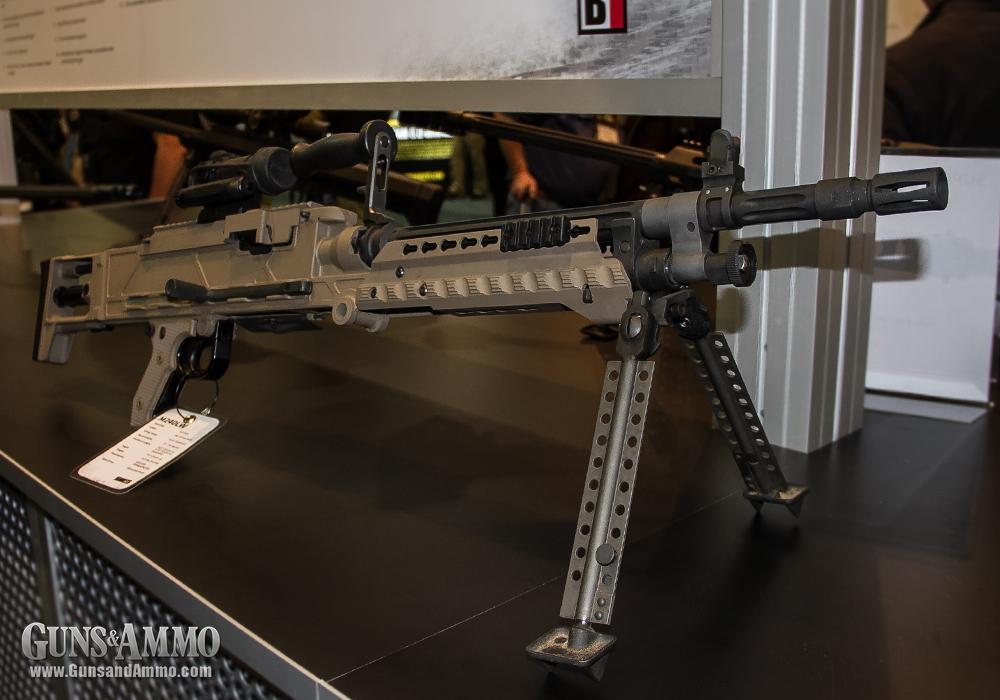 Единый пулемет Barrett M240LW под патрон 7,62х51, США