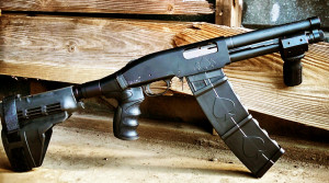 Помповый дробовик BAT DT от компании Black Aces Tactical