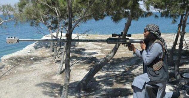 Крупнокалиберное снайперское оружие для ИГИЛ