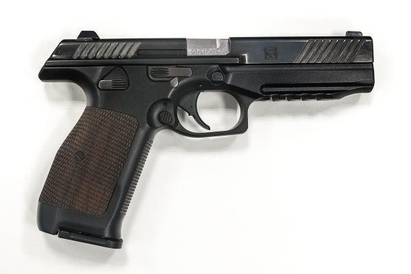 9 мм самозарядный пистолет ПЛ-14 конструкции Лебедева