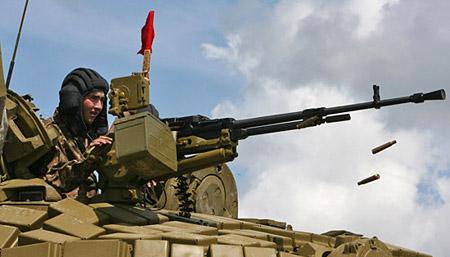"Крупнокалиберный пулемет ""Утес"" калибром 12,7 мм"