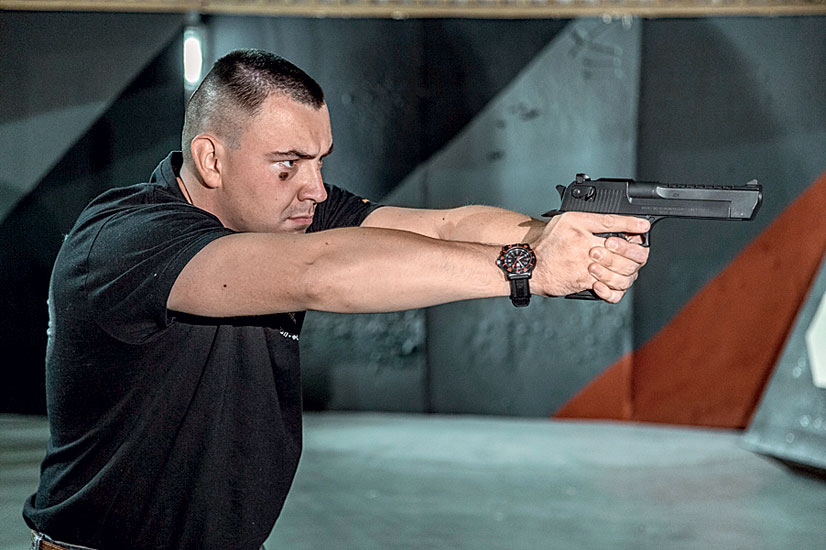 Пистолет Desert Eagle - оружие для кино