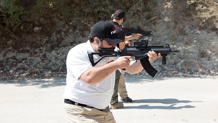 Экскурсия на оружейное предприятие IWI, Израиль