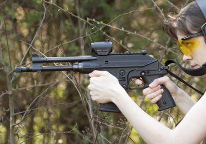 KEL-TEC PLR-16 полуавтоматический пистолет с газовой автоматикой под патрон 5.56x45 NATO