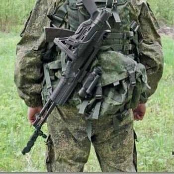 """АН-94 """"Абакан"""" с телескопическим прикладом"""