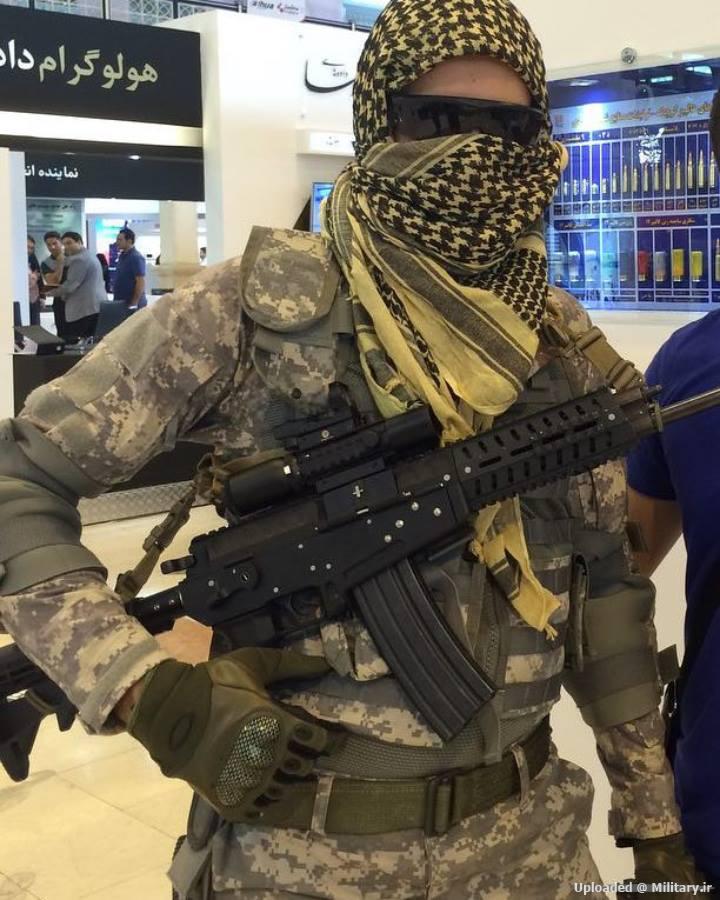 Штурмовая винтовка калибром 5.45 мм, Иран