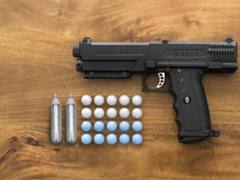Пневматический пистолет Salt для самообороны