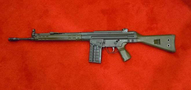 PTR91 серии G1 с зеленым полимерным цевье
