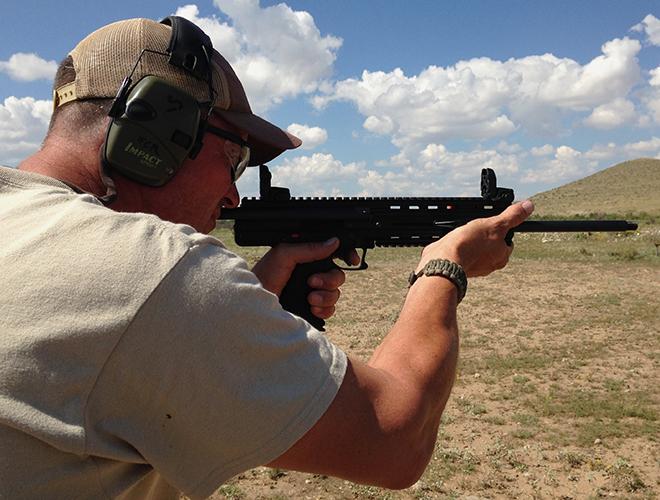 Малокалиберная винтовка Kel-Tec CMR-30 под патрон .22 WMR
