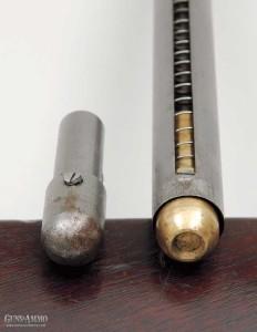 7-и зарядный трубчатый магазин к карабину  Спенсера
