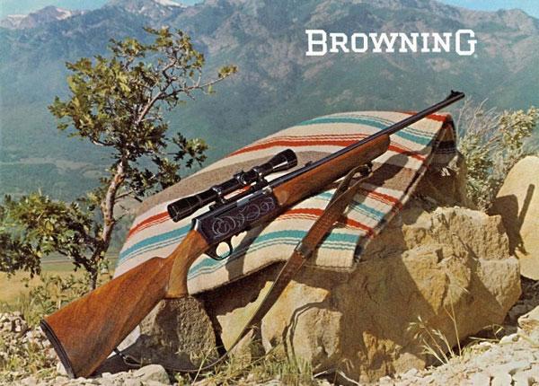 Полуавтоматическая охотничья винтовка Browning BAR в каталоге 1967 года