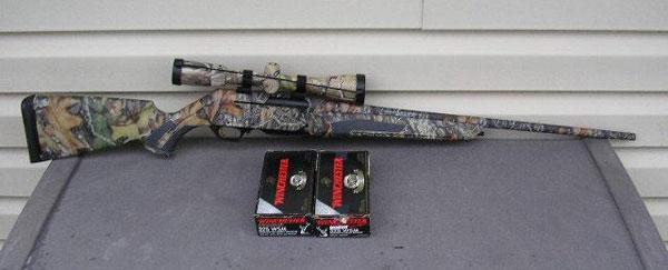 Полуавтоматическая охотничья винтовка Browning Short-trac BAR