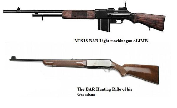 Военный и охотничий варианты BAR