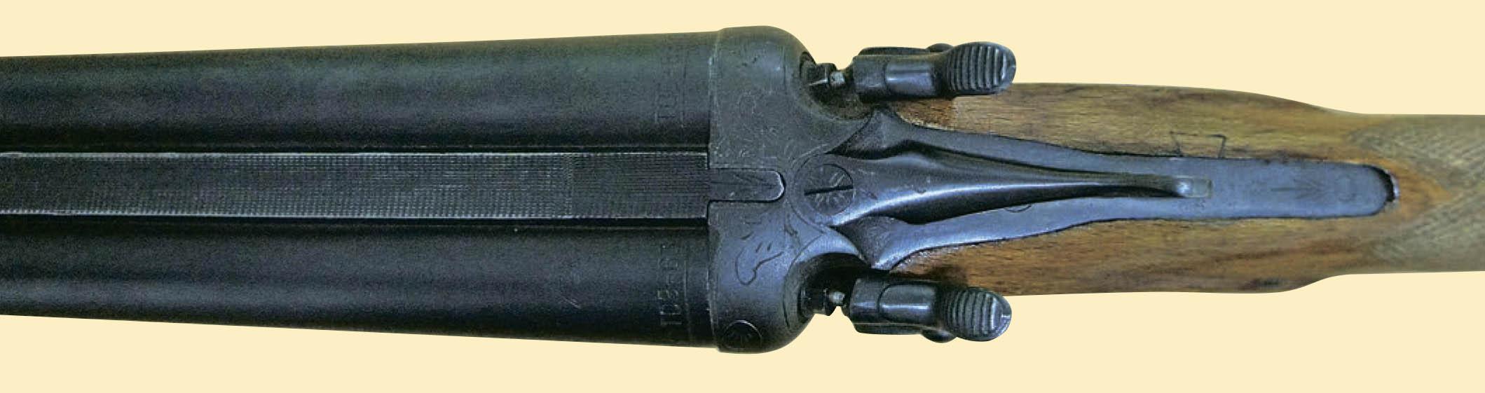 Ствольная коробка ТОЗ-63. Вид сверху