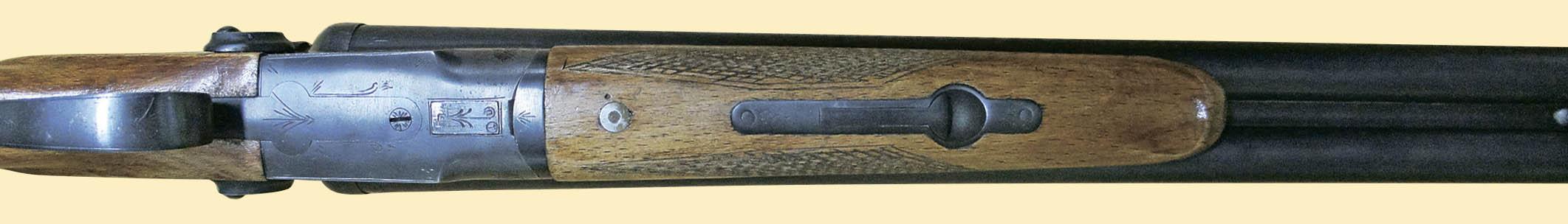 Ствольная коробка ТОЗ-63. Вид снизу. Хорошо видно съёмное цевьё