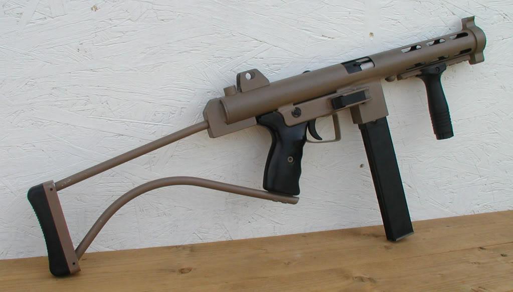 9 мм пистолет-пулемет для испытания глушителя Innovative Arms