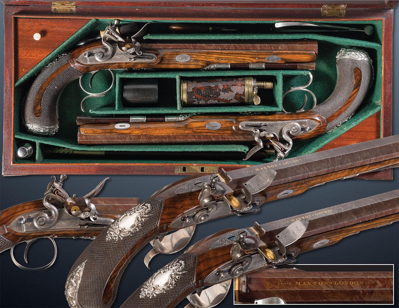 Дуэльные пистолеты 18-го века