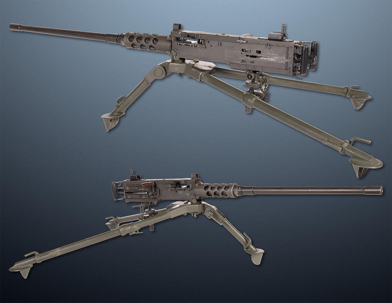 Станковый пулемет Browning M2 50 калибра