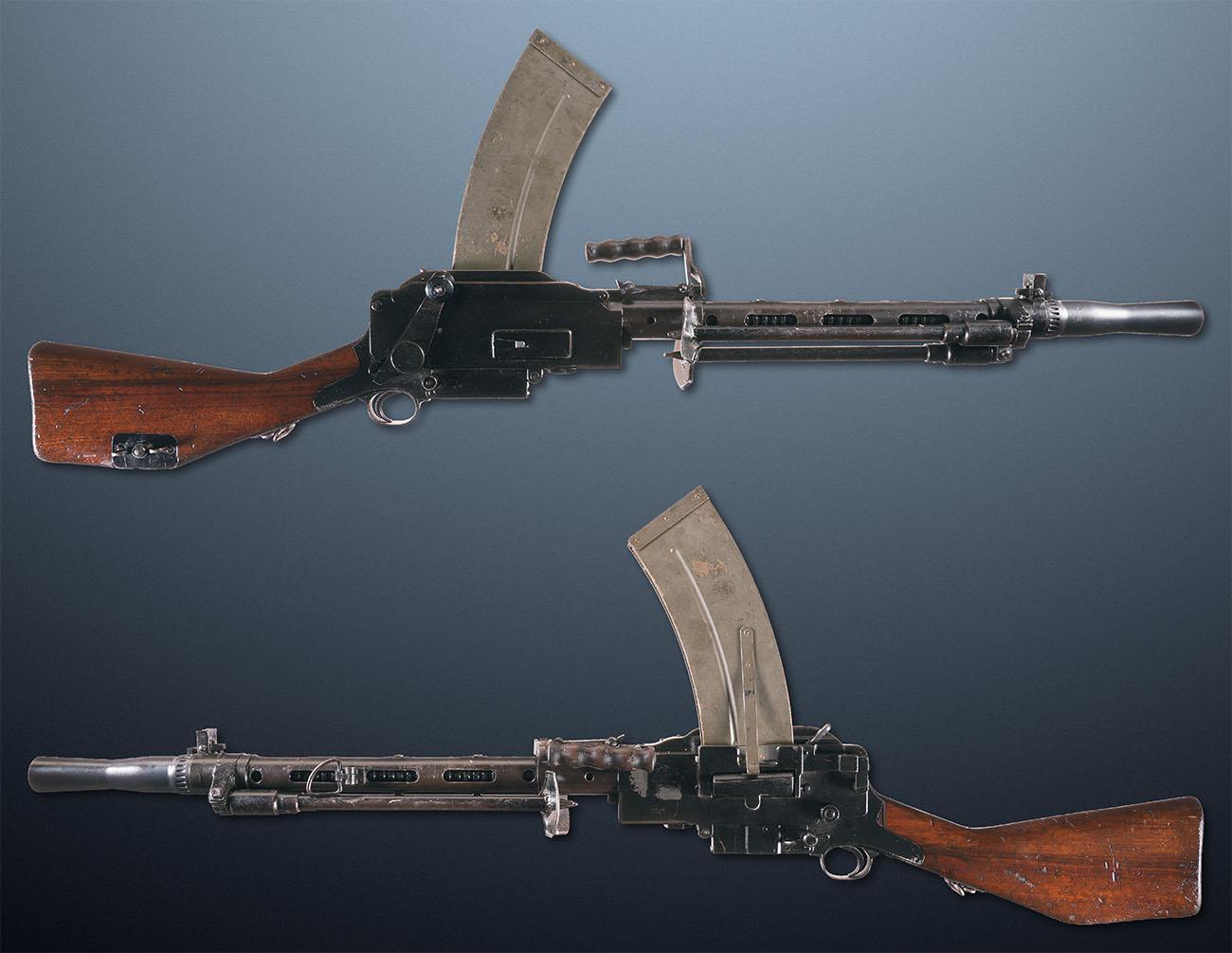 Ручной пулемет Madsen, Дания