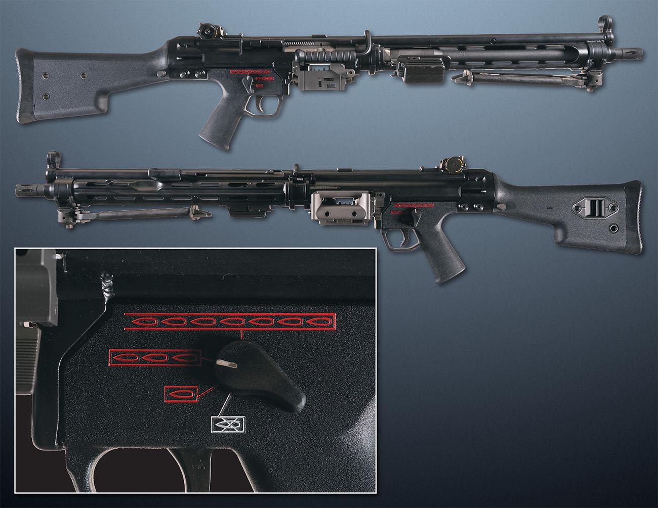Ручной пулемет Heckler & Koch HK21