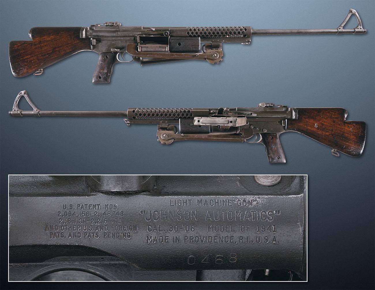 Ручной пулемет Johnson-1941-LMG