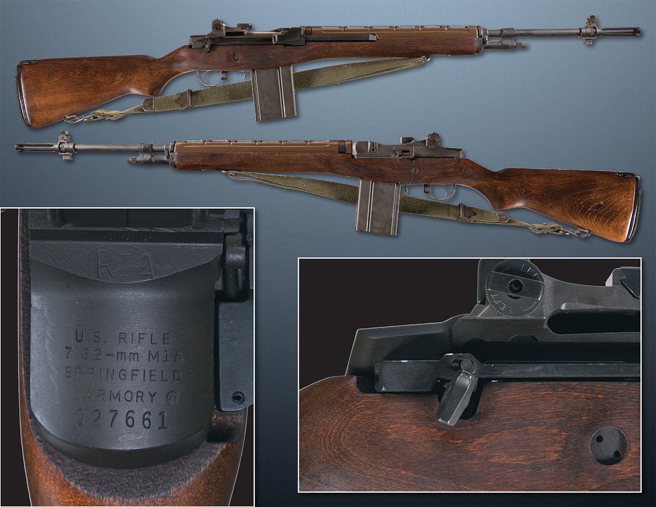 Автоматическая винтовка M14 производства компании Springfield
